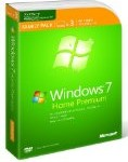 Windows7 Home Premium アップグレード ファミリーパッケージ