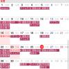 iOS8、widgetに予定入りカレンダーを表示するハチカレンダー3